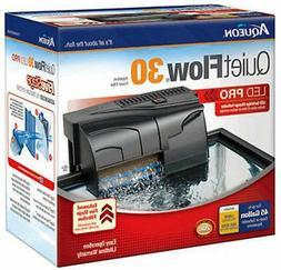 Aqueon QuietFlow LED PRO Aquarium Power Filters, Size 30-200