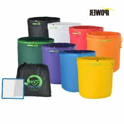 iPower 1 Gal 5 Gallon Bubble Hash Bag Ice Herbal Extractor K