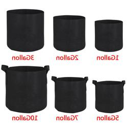 10 20 pack fabric grow pots aeration