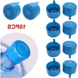 10Pcs 5 Gallon Water Bottle Snap On Cap Anti Splash Barreled