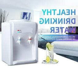 110V Electric Hot Warm Water Cooler Dispenser Desktop 3-5 Ga