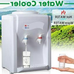 110V Electric Hot Warm Water Cooler Dispenser Desktop 3-5 Ga