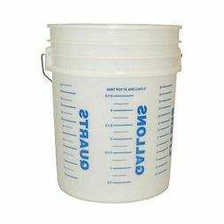 """Kraft Tool 15, 11-7/8 W x 15"""" L,Mixing Bucket, GG468"""