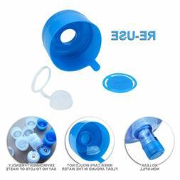 15pcs 5 Gallon Replacemet Water Bottle Snap On Cap Anti Spla