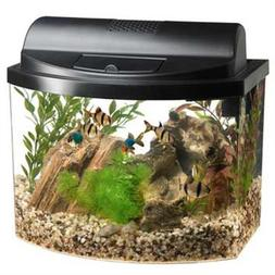 Aqueon 17774 Mini Bow 5 Gallon Desktop Aquarium Kit, Black