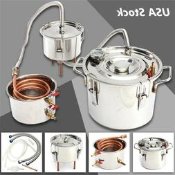 2/3/5/8 Gal Wine Alcohol Water Distiller Moonshine Still Boi