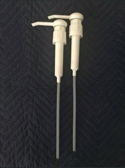 2 Dispensing Pumps for 1 or 5-Gallon Bucket Jugs Pails Deter