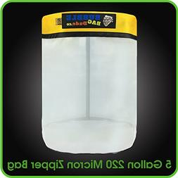 220 Micron Zipper Bag for 5 Gallon Bubble Machine Ice Now Ma