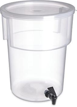 Carlisle 220930 Break-Resistant Beverage Dispenser, 5 Gallon