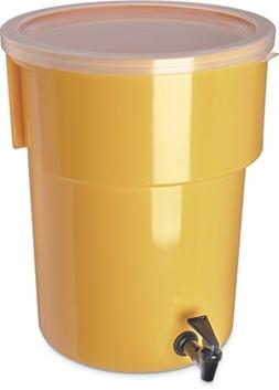 Carlisle 221004 Polyethylene Round Beverage Dispenser, 5 gal