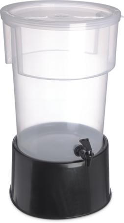 Carlisle 222903 Break-Resistant Beverage Dispenser with Base