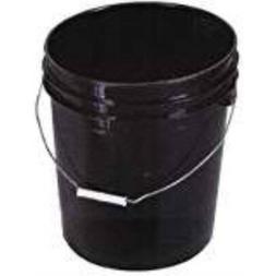 Encore Plastics 250003 Bucket Space Black 5 Gallon