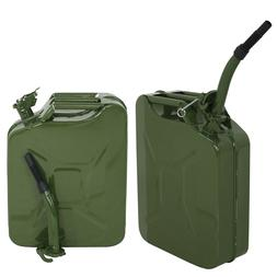 2x Jerry Can 20L Liter  Backup Steel Tank Fuel Gas Gasoline