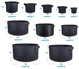 5 10 20 pack fabric grow pots
