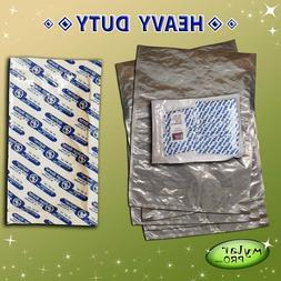 5 6 Gallon Mylar Pro Bags 20x30 + 2000CC Oxygen Absorbers Lo