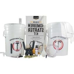 5 Gallon Home Brew Starter Kit ~ Homebrew Making Beer, Wine,
