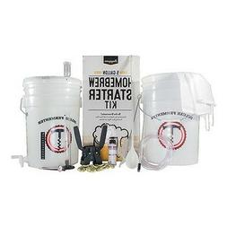 5 Gallon Homebrew Starter Kit ~ Beer, Wine, Cider, Moonshine