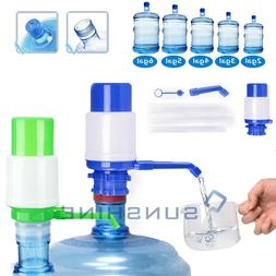 5 & 6 Gallon Hand Pump for Water Bottle Jug Manual Drinking