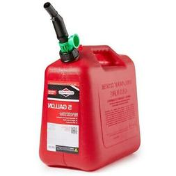 5 Gal Gas Can Fuel Tank Gallon Gasoline Backup Emergency Con