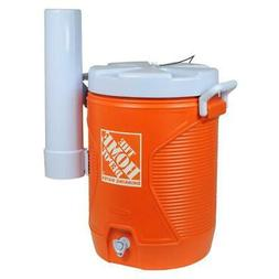5 Gal. Orange Water Cooler with Cup Dispenser, FREE SHIPPING