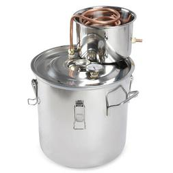 5 Gallon 18L Water Distiller Wine Alcohol Stainless Steel Bo
