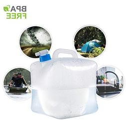 Gowithwind 2.6 Gallon Collapsible Water Container with Spigo