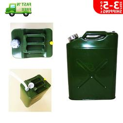 5 Gallon 20L Gas Gasoline Fuel Army NATO Can Military Metal