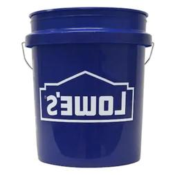 5 Gallon All Purpose Bucket  , Lid Commercial Storage Durabl