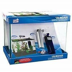 Penn-Plax 5-Gallon Aquarium Kit With Light, And Pump Fish Ta