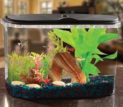 5-Gallon Aquarium LED Lighting Filter Complete Fish Tank Eas