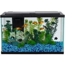 5-Gallon Aquarium Starter Kit with LED Light Fish Tank Compl