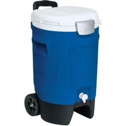 Igloo 5-Gallon Beverage Roller, Leak-resistant Spigot Blue