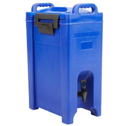 5 Gallon Blue Insulated Hot Cold Catering Beverage Drink Dis