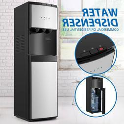5 Gallon Bottom Loading Water Cooler Dispenser Stainless Ste