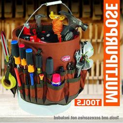 5 Gallon Bucket Gardening Auto Tool Holder Organizer Tote Ba