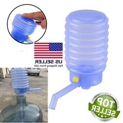 5 Gallon Drinking Water Jug Bottle Pump Manual Dispenser Hom