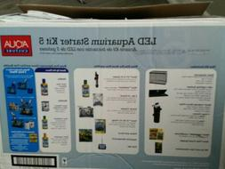 Aqua Culture 5-Gallon Fish Tank. Aquarium Starter Kit. KIT O