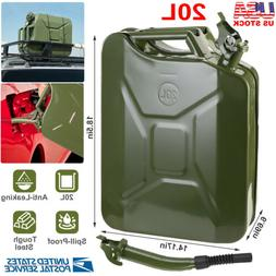 5 Gallon Fuel Pack Spare Container Spill Proof Gasoline Gas