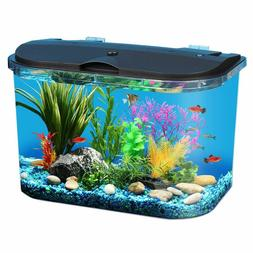 Fish Aquariums Tanks 5 Gallon with Power Filter Clear Acryli