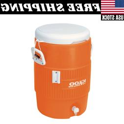 5-Gallon Heavy-Duty Beverage Cooler Dispenser Cold Drink Wat