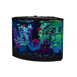 5 Gallon LED Lighted Aquarium Kit Fish Tank Aqua Starter Kit
