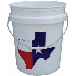 5 Gallon Plastic Food Grade Painting Bucket Commercial Stora