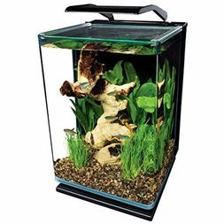 MarineLand 5 Gallon Portrait Glass LED Aquarium w/ Adjustabl