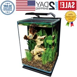 MarineLand 5 Gallon Portrait Glass LED Aquarium Kit 5 GAL FR