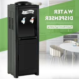 Electric Water Dispenser Cooler 5Gallon Top Loading Freestan