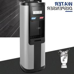 5 Gallon Top Loading Hot/Cold Water Cooler Dispenser Stainle
