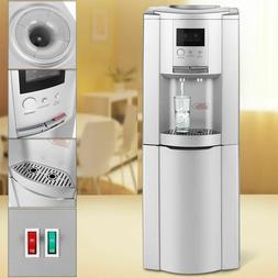 5 Gallon Water Dispenser Cooler Hot Cold Stainless Tanks Bot