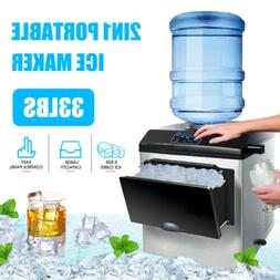 2in1 Built-In Electric 5 Gallon Water Dispenser Ice Maker Ma