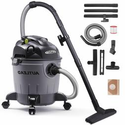 5 Gallon Wet/Dry/Blow Shop Vac Vacuum Cleaner 5.5 Peak HP 12