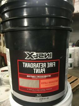 5 Gallon White Interior Latex Fire Retardant Intumescent Coa